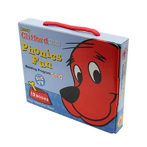 Scholastic ScholasticScholastic Clifford the Big Red Dog Phonics Fun Reading Program Pack 5 (12 Books) クリフォードフ