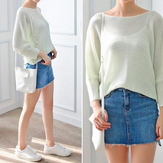 レイショップ行き来するようにココジェンハラマン香織ニート ニット/セーター/ニット/韓国ファッション