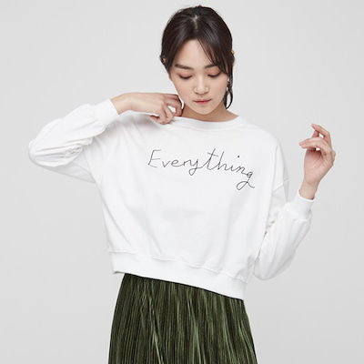 ナインNAINカジュアルレタリング起毛ティーT3501 ティーシャツ / ソリッド/無知ティーシャツ / 韓国ファッション