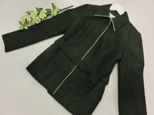 美品♪ ZAZIE/ザジ 長袖 ジャケット 9AR ブラック【中古】