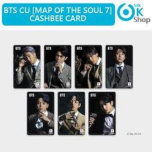 7種選択 防弾少年団 BTS MAP OF THE SOUL 7 CASHBEE CARD 交通カード TRANSPORTATION CARD  【SM公式グッズ】 MOTS7