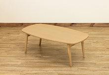 BONNY 折れ脚ローテーブル ナチュラル(NA)ローテーブル長方形90×50cm  【幅90cm】 木製折れ脚 木目調折りたたみセンターテーブル
