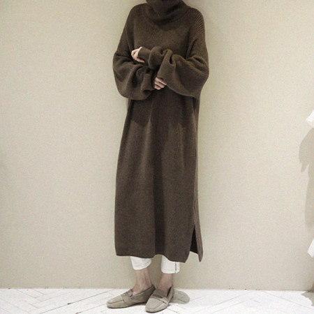 Jotor Long Dress Korean fashion style