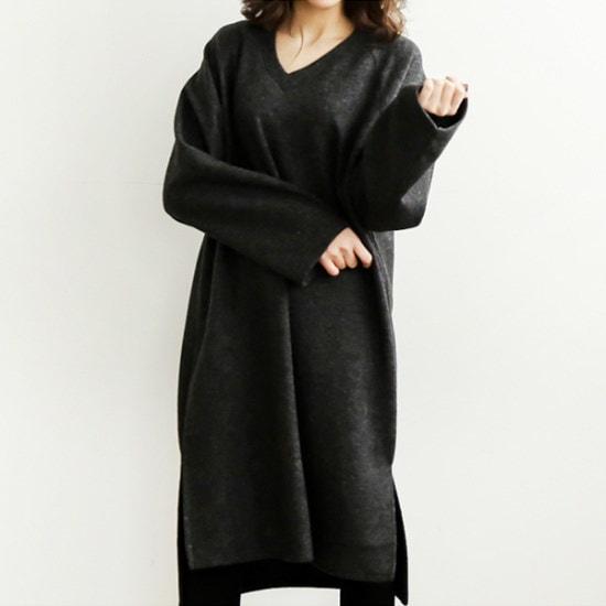 ビナインベンニ起毛ワンピース 綿ワンピース/ 韓国ファッション