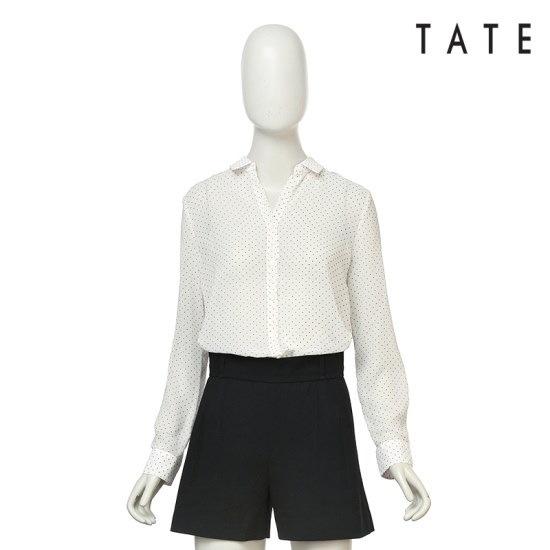 ・テイトテート・】女性カラ・ドットブラウスKA4U4WRC320110 テーラードジャケット/ 韓国ファッション