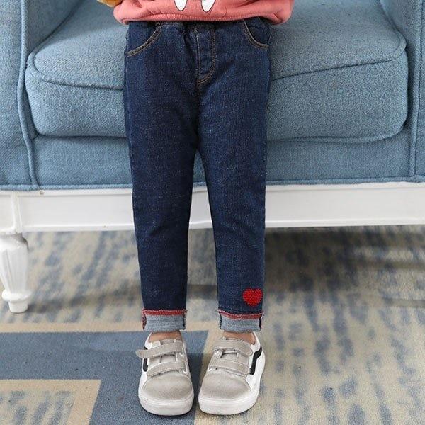 韓国子供服 ズボン ジーンズ デニムパンツ シンプル キッズ 女の子 ベビー ボトムス 春着 秋着 冬着 80 90 100 110 120cm-P931