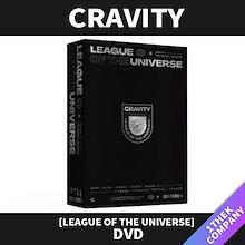 【当店追加特典】 CRAVITY (크래비티) - [LEAGUE OF THE UNIVERSE] DVD /  クラビティー フォトブック/リージョンコード 13456 /  【送料無料】