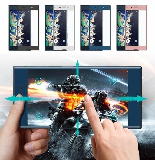 Xperia XZ Premium SO-04J/Xperia XZs/SO-03J/SOV35用3D全画面/曲面強化ガラスフィルム/保護ガラスフィルム/シート/飛散防止9H【F677F679】