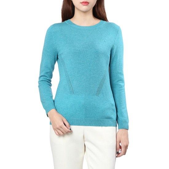 オリーブ・デ・オリーブカシミヤラウンドプルオーバーOK7WP860 ニット/セーター/韓国ファッション