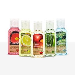 ネイチャーリパブリック(Nature Republic) [3+4 / 5+6] 消毒ジェル(ランダム発送 :: サニタイザージェル) 7個 /11個セット 30ml - 6種(タイプ) : 手洗浄剤