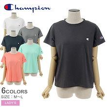 CHAMPION チャンピオン 半袖Tシャツ C VAPOR Tシャツ CW-PS302 レディース