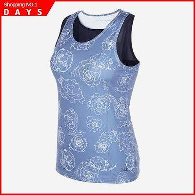 [Hide Shoulder Bratop]ブルーブラ内臓女性、袖なしのシャツJFTS7D719 /フードトレーナー/トレーナー/スウェット/韓国ファッション