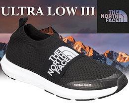 【ノースフェイス スニーカー ウルトラ ロー 3】THE NORTH FACE ULTRA LOW III tnf black スリッポン スニーカー トレーニング シューズ Vibram