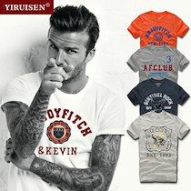 【送料無料 】《昨年の大ヒット商品再販開始❕❕》プリントロゴTシャツ コットン Tシャツ メンズ T-SHIRTS 男 学生 シャツ おしゃれ きれいめ メンズポロシャ