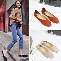 春と夏の靴2020新しいエンドウ豆の靴の女性の韓国の単一の靴平らなスクープシューズ大学英国風の靴怠惰な靴