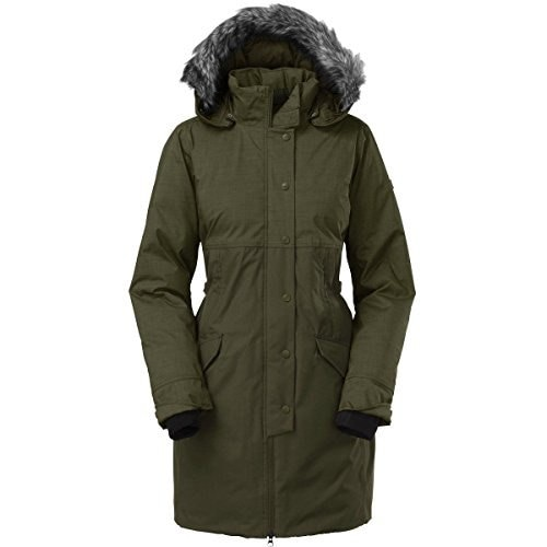The North Face Shavana Down Parka - Womens Forest Night Green Melange, XL