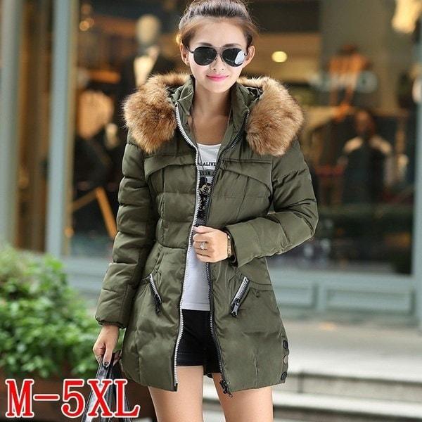 2017 Winter Women Fashion Warm Coat Down Jacket Winter Coat