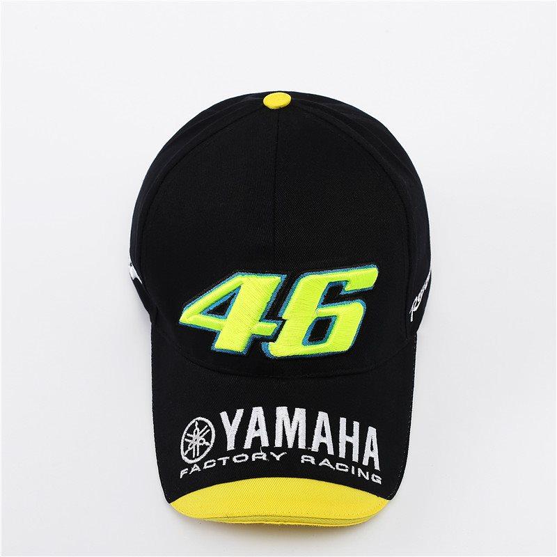 父の日!Yamaha ベースボールキャップブゴルフ ベースボールキャップ 帽子 男女兼用 メンズ レディース ワークキャップ UVカット バイク用 VR46 短納期 F1