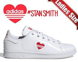 【アディダス スタンスミス J】adidas STAN SMITH J V-DAY fy4481 レディース スニーカー バレンタインデー PRIMEGREEN