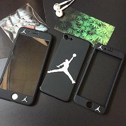 iphone アイフォーン 6 S 6S plus 7 7plus 8トレンドジョーダンハードプラスチックバックケースホットジャパン人気360度完全保護カバーケース