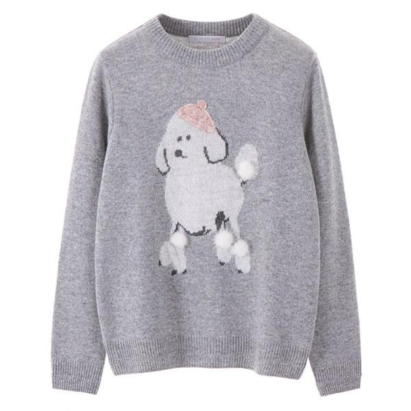 [韓国直送] 【オリーブデオリーブ] puppy point round knit OK7WP820