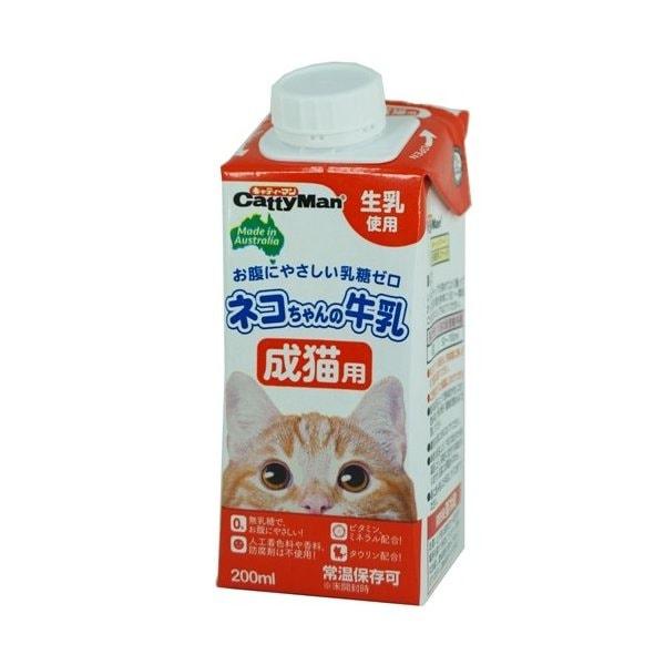 キャティーマン ネコちゃんの牛乳 成猫用 200ml