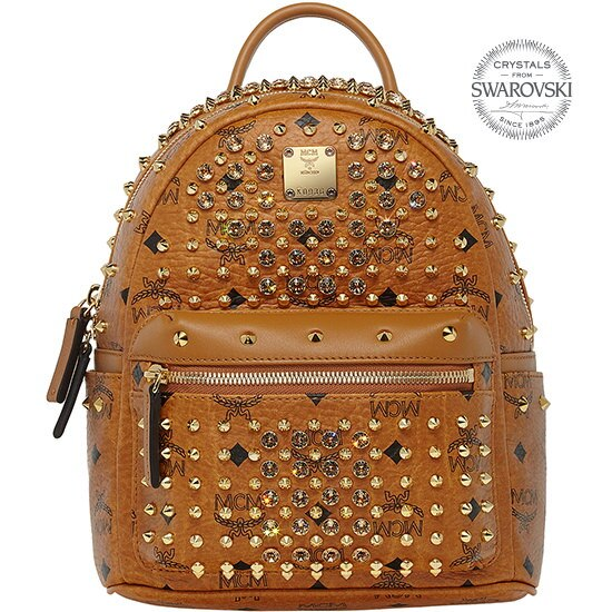 ★【MCM 正規品】★SS15 DIAMOND VISETOS mini BACKPACK★MWK5SVI86CO★【EMS無料発送】★