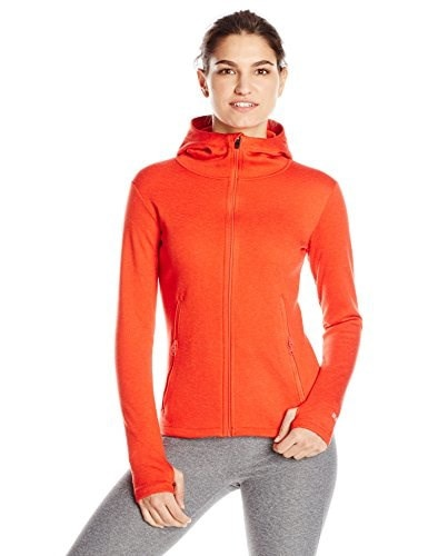 BURTON Womens Minette Fleece, Fiery Red, Medium