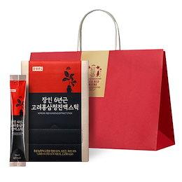 ホン正官庄の6年根高麗ホンサムジョン液スティック(100個)+ショッピングバッグ/高麗人参/紅/韓国優秀商品