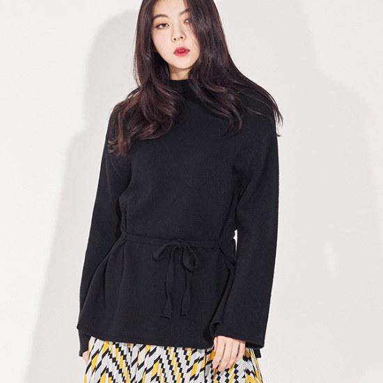 メグジェイMAGJAYラインハーフネックのニートJ92PNT214 / ニット/セーター/ニット/韓国ファッション