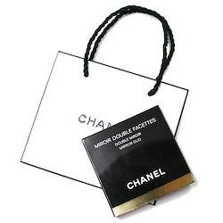 2e245a4fc37e シャネル CHANEL コンパクト ダブルミラー 手鏡 BLACK (ブラック) CHANEL ギフト ペーパーバッグ付き ミロワール