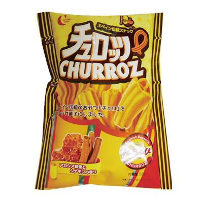 『CROWM』チュロッツ スナック(56g) クラウン スナック チュロ 韓国お菓子 韓国食品