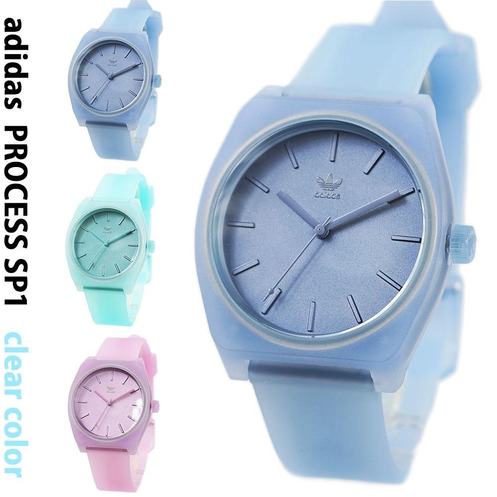 アディダス 腕時計 メンズ レディース adidas プロセス SP1 クリア