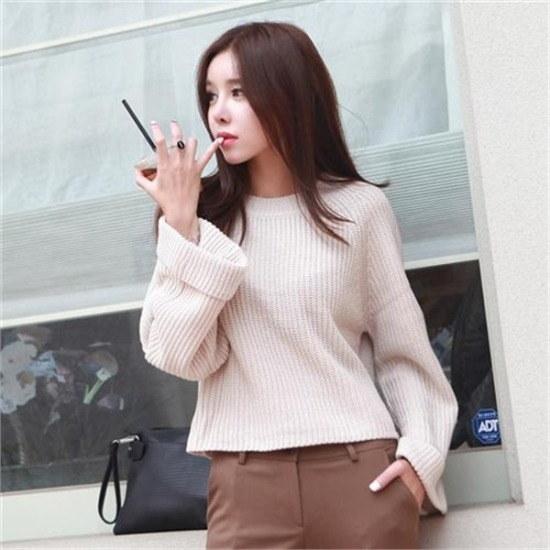 ・ジュード・ヴィヴィアン行き来するように・ジュード・ヴィヴィアンロールアップ小売ニット ニット/セーター/ニット/韓国ファッション