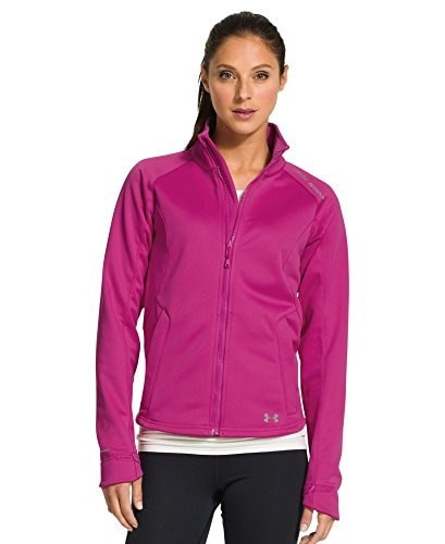Under Armour Womens UA ColdGear® Infrared Softershell Jacket Large FUCHSIA ROSE