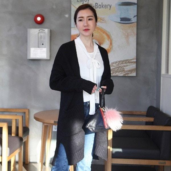 オリーブロングカディゴン4color 女性ニット/カーディガン/韓国ファッション