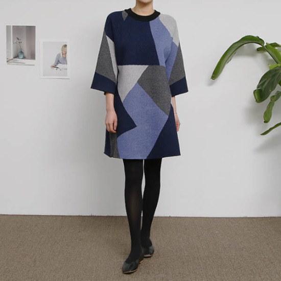 エンピオナページニット・ワンピース ニット・ワンピース/ 韓国ファッション