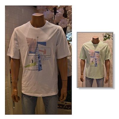 UGIZ[AK公式ストア]【UGIZ】メンズグラフィック半袖Tシャツ(UBTC261)