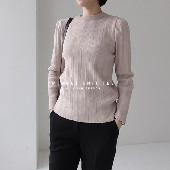 ミシャプミニュエッ・ニットT2 color ニット/セーター/ニット/韓国ファッション
