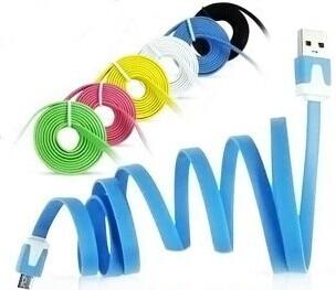 【お試し】【フラットタイプ/断線しにくい作り】 micro usb 充電ケーブル micro-usb ケーブル 充電器【お色指定不可】スマホケーブル