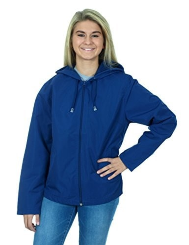 Womens Lightweight Hiking Jacket (Small, Royal Blue)