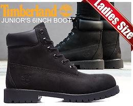 TIMBERLAND JUNIOR S 6INCH BOOT blk/blk【ティンバーランド レディース 6インチ ブーツ 】TIMBERLAND