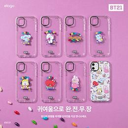 BTS (防彈少年團) x BT21 x ELAGO Official BT21 iPhone 11 Jelly Candy Clear Case