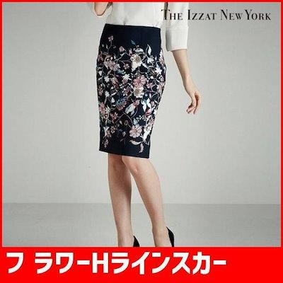 フ ラワーHラインスカートIH9A0SK11 /スカート/Hラインスカート/ 韓国ファッション