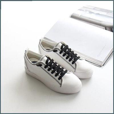 [トガクトガク]・ステッチスニーカー /女性スニーカー/カジュアル化/スニーカー/靴/