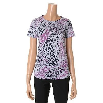 ベルラディタッチプリント半袖ティーシャツ1352185 プリント/キャラクターシャツ / 韓国ファッション