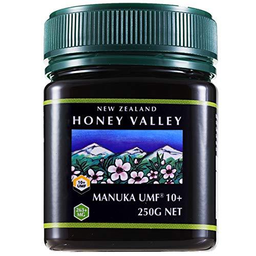 アクティブマヌカハニー UMF10+ 250g MGO263〜513相当 ハニーバレー(100% Pure New Zealand Honey)マヌカ蜂蜜 MGO 263〜513相当