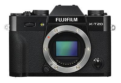 富士フイルムX-T20ミラーレスデジタルカメラ - ブラック(本体のみ)