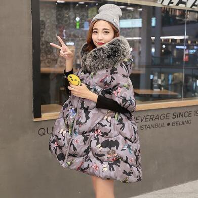 [55555SHOP]ダウンコート コート アウター ダウンコート 防寒 流行のデザインに仕立てた ダウンジャケット ロングタイプ 軽量 アウター ロング 長め しっかり暖か 新作 冬 女性