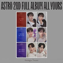 ASTRO (アストロ) 正規 2集 アルバム - All Yours [Cha Eunwoo Message Card Photocard (フォトカード)]